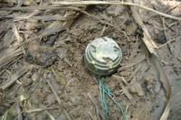 Landmines have been widely used in the ongoing civil war in Burma. (Photo: DVB)