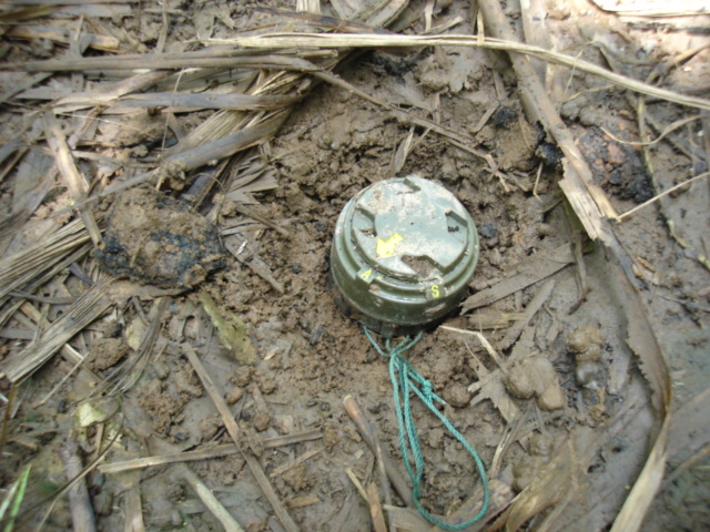Landmines have been widely used in the ongoing civil war in Burma.