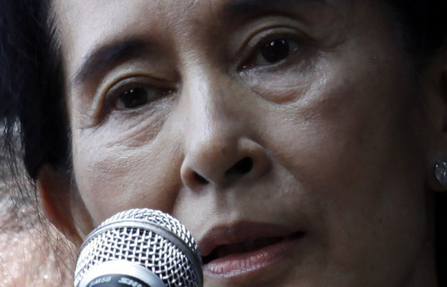 File photo of Aung San Suu Kyi (PHOTO: Reuters)