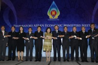 File photo of the ASEAN Economic Ministerial Meeting in Jakarta, 2011. (PHOTO: Reuters)
