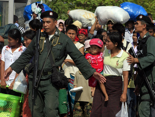 Thai media &#8216;skewing reality&#8217; for refugees thumbnail