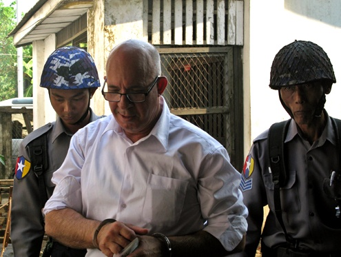 Dunkley convicted, freed by Burma court thumbnail