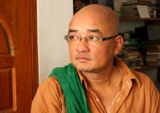 File Photo: Zarganar is a much loved figure in Burma, who links the worlds of politics and entertainment.