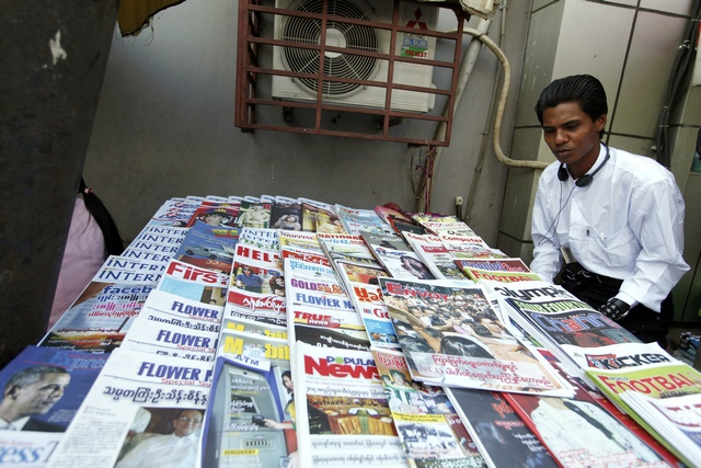 "Is Burma's nascent ""free media"" already in crisis?(Reuters)"