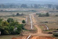 The Shwe gas pipeline running the breadth of Burma will boost gas revenue 60 percent, but has been accompanied by displacement (Steph Ferry)