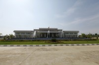 Burma's Central Bank building in Naypyidaw as seen in May 2012.  (Reuters)