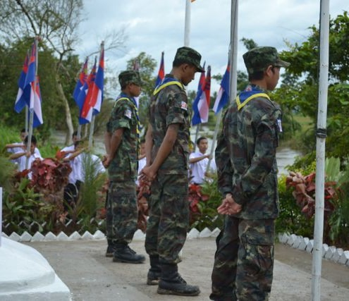 The DKBA commemorates Martyrs' Day on 12 August 2012