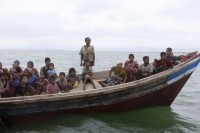 Rohingya boatpeople pictured in Teknaf in  2012. (Reuters)