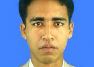 Phyo Wai Aung was sentenced to death for his suspected involvement in the New Year's bombing in 2010. (photo provided by AAPP-B)