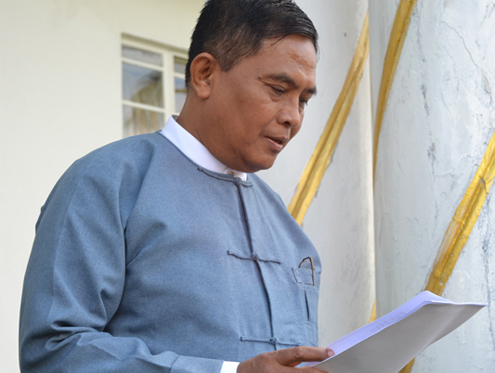 New Information Minister Aung Kyi. (Reuters)