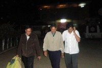 Shwe Htoo walks out of Taunggyi Prison after being released through a presidential amnesty on 17 September 2012. (DVB)