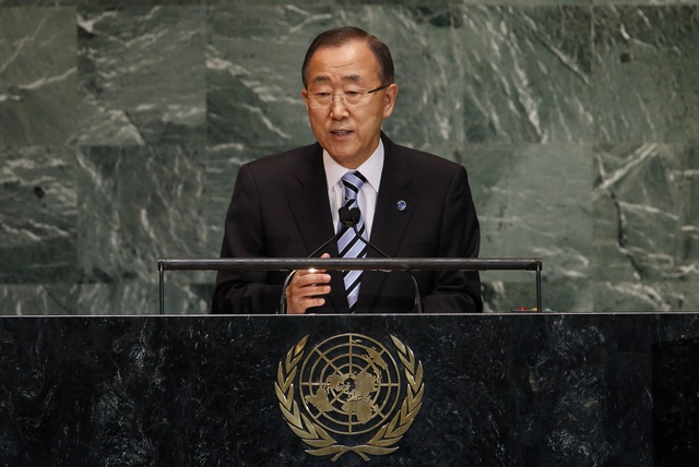 File photo of UN Secretary-General Ban Ki-moon (Reuters)