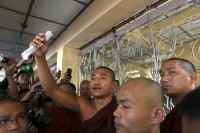 "Ashin Gambira will face charges for ""squatting"" in a Rangoon monastery (Reuters)"