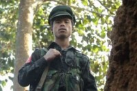 File photo of KIA solider taken in 2012 (DVB)