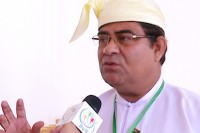 Rohingya MP Shwe Maung represents Buthidaung constituency in northern Arakan state. (PHOTO: DVB)