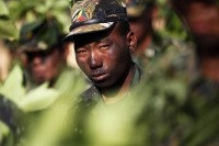 File photo of troops from the Shan State Army-North. (PHOTO: Reuters)
