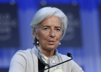 Christine Lagarde, managing director of the International Monetary Fund (IMF) pictured at the annual meeting of the World Economic Forum in Davos 26 January 2013. (PHOTO: Reuters)