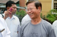 Former prime minister Khin Nyunt was released from house arrest in January 2012. (Reuters)