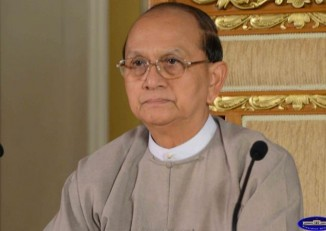 Thein-Sein-talks-Arakan-commission-report