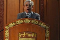 The Speaker of the British House of Commons John Bercow. (British Embassy-Burma)