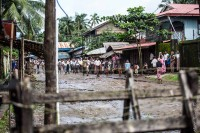 Thousands of Rohingya Muslims have been fenced into Sittwe's Muslim quarter, Aung Mingalar, since June 2012 (Lux Capio Photography)