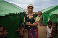 The bill has been criticised as an attack on Rohingya people or as an attempt to stifle their population growth. (PHOTO: DVB).