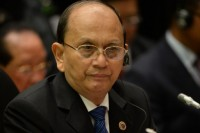 File photo of Burmese President Thein Sein, 2013. (PHOTO: AFP)