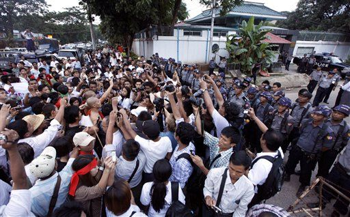 Nearby staff from Latpadaung move for pay out hike