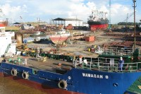 Shin Yang shipyard (PHOTO: Borneo Post)
