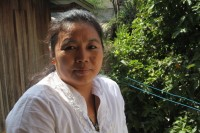 Kachin land rights activist Bauk Ja, pictured in November 2012. (PHOTO: Edward Chung Ho)