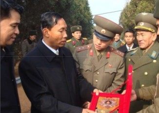 Shwe Mann led a Burmese delegation to North Korea in 2008. (PHOTO:DVB)
