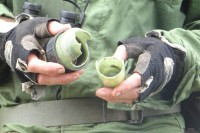 Photo of chemical munitions container allegedly used against the Kachin people in northeastern Burma. (PHOTO: Free Burma Rangers)