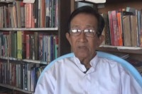 Burmese writer and dissident Htet Myat (PHOTO: DVB)