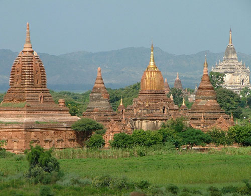 The earthquake was felt in Bagan, but there were no immediate reports of damage.