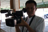 Zaw Pe started out as an undercover video journalist for DVB in 2007. (PHOTO: DVB)