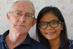 Alan Morison and Chutima Sidasathian face defamation charges brought by the Royal Thai Navy. (PHOTO: Phuketwan)