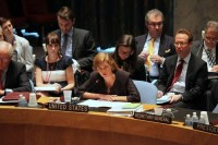 Ambassador Power at the United Nations Security Council, 6 August 2013. (PHOTO: US Mission to the UN)