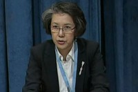 Yanghee Lee began her role as UN Special Rapporteur to Burma on 1 June, 2014. (PHOTO: UN)