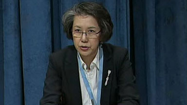 Yanghee Lee, UN Special Rapporteur on Human Rights to Burma. (PHOTO: UN)