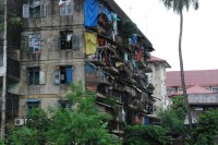 File photo of delapidated Rangoon housing. (PHOTO: FELIZ SOLOMON)