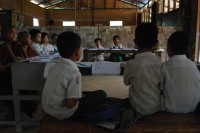 File photo of a primary school in central Burma. (PHOTO: Feliz Solomon/DVB)