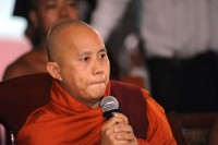 Monk Ashin Wirathu, pictured in Mandalay in 2014. (Photo: Steve Tickner)