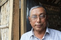 Kyaw Hla Aung, a distinguished Rohingya lawyer and rights activist, has been imprisoned in Sittwe, Arakan State, since July 2013. (PHOTO: IRIN)