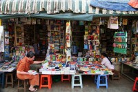 A Rangoon bookstore. (PHOTO: CISmith Photography)
