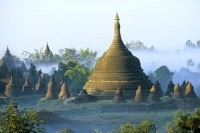 Founded in 1433 by King Min Saw Mon, Mrauk U served as the capital of the Arakanese kingdom until 1784. (PHOTO: Debonair Travels)