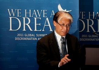 Dr Thaung Htun in September 2011. (PHOTO: We Have a Dream Summit)