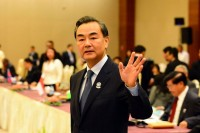 China's Foreign Minister, Wang Yi, attending the ASEAN Foreign Ministers Summit in Naypyidaw on 9 August. (PHOTO: DVB)