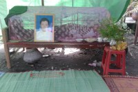 Sithu Htet, a local member of the NLD's Maha Aungmayay chapter in Mandalay, died from injuries after being severely beaten by two soldiers and a son of a Burmese Lt. (PHOTO: DVB)