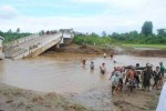 A scene of devastation after flash floods in Katha, Sagaing Division, on Friday, 19 September 2014. (PHOTO: DVB)