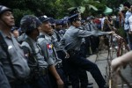 The Burmese police force continues to  inflict torture on prisoners despite prohibition (PHOTO:DVB)